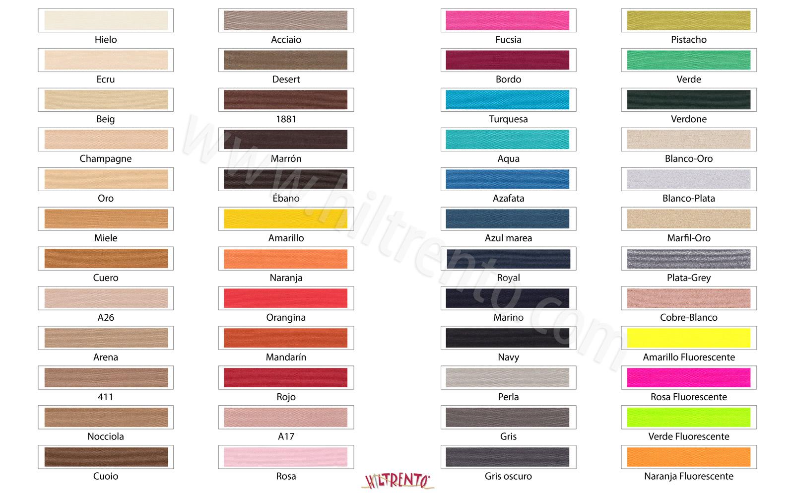 Elastico colores+