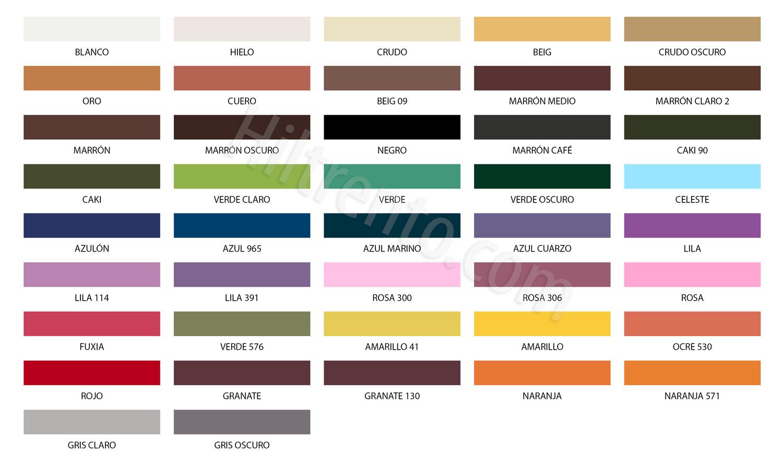 colores hilo parafinado carrete
