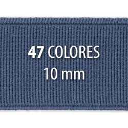 Elástico liso 10 mm - Rollo 125 metros