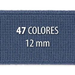 Elástico liso 12 mm - Rollo 100 metros