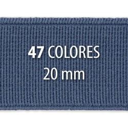 Elástico liso 20 mm - Rollo 25 metros