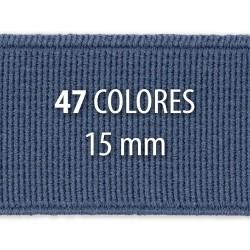 Elástico liso 15 mm - Rollo 25 metros