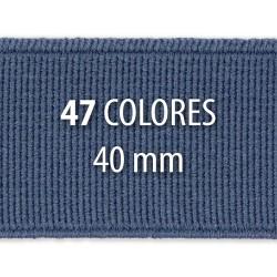 Elástico liso 40 mm - Rollo 25 metros