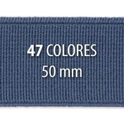 Elástico liso 50 mm - Rollo 25 metros