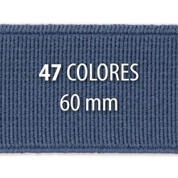 Elástico liso 60 mm - Rollo 25 metros