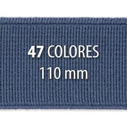Elástico liso 110 mm - Rollo 25 metros
