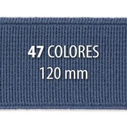 Elástico liso 120 mm - Rollo 25 metros
