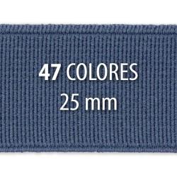 Elástico liso 25 mm - Rollo 25 metros