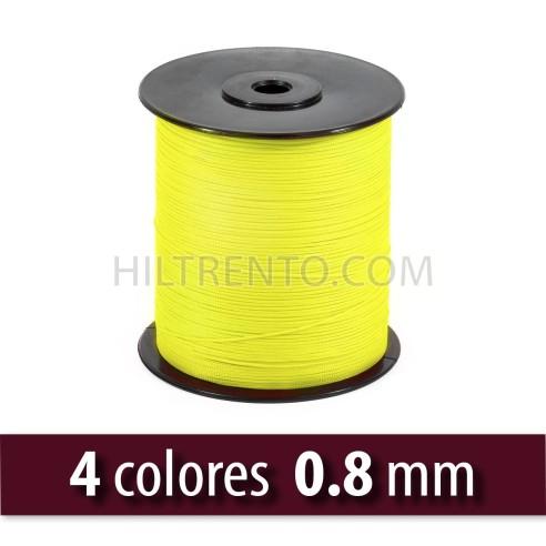 c821c696b419 Hilo lubrificado poliéster FLUOR 0.8mm - Carrete 1000 mts ...