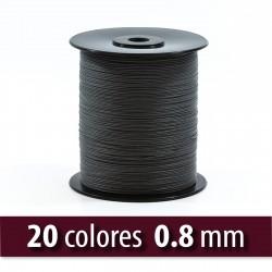 Hilo semiencerado poliéster 0.8 mm - Carrete 1000 mts
