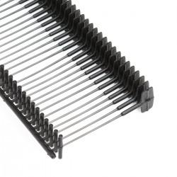 Navete para etiquetas 40 mm negro Splendid - Caja 5000 uds