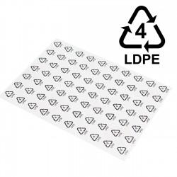 Etiquetas apli polietileno LDPE