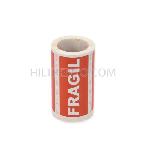 "Etiquetas adhesivas APLI ""frágil"""