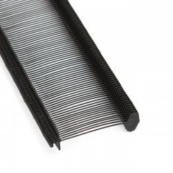 Navete para etiquetas fino negro 25mm