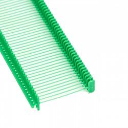 Navete para etiquetas verde 25mm