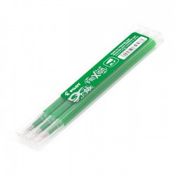 Recambio Pilot Frixion Verde - Pack 3 uds