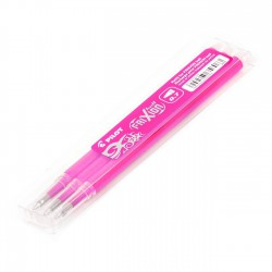 Recambio Pilot Frixion Rosa - Pack 3 uds