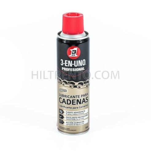 Lubricante para cadenas 3 EN UNO spray 250ml