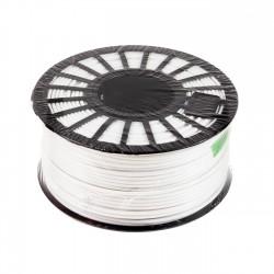 Macarrón adhesivo en barra termoplástico blanco poliester F62