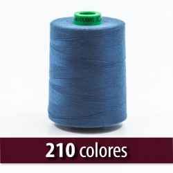 Hilo poliester 100% fibra cortada 50/2 (30/2)- Bobina 5000 mts
