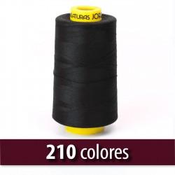 Hilo poliester 100% fibra cortada 80/2 - Bobina 5000 mts
