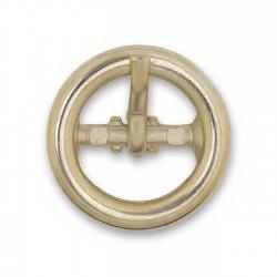 Hebilla redonda 11mm oro ref.13354/11E