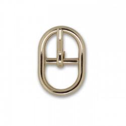 Hebilla ovalada 10mm oro ref.13647/10