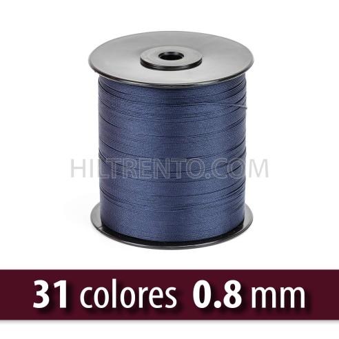 Hilo lubrificado poliéster 0.6 mm (Carrete)