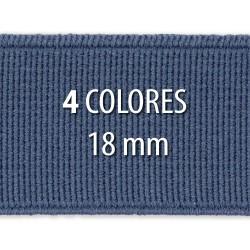Elástico liso 18 mm - Rollo 25 metros
