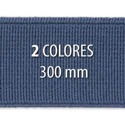 Elástico liso 300 mm - Rollo 25 metros