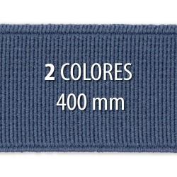Elástico liso 400 mm - Rollo 25 metros
