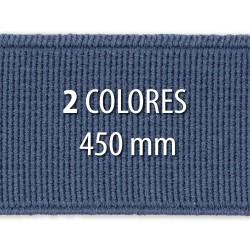 Elástico liso 450 mm - Rollo 25 metros