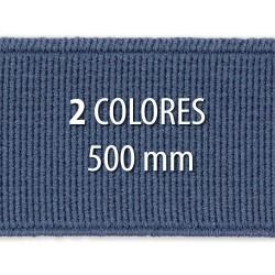 Elástico liso 500 mm - Rollo 25 metros