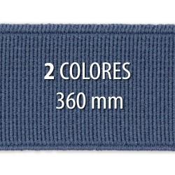 Elástico liso 360 mm - Rollo 25 metros