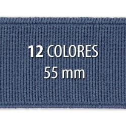 Elástico liso 55 mm - Rollo 25 metros