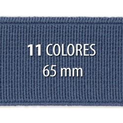 Elástico liso 65 mm - Rollo 25 metros