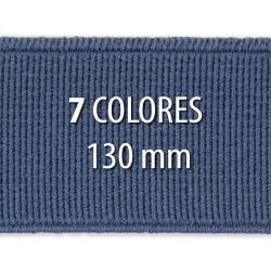 Elástico liso 130 mm - Rollo 25 metros