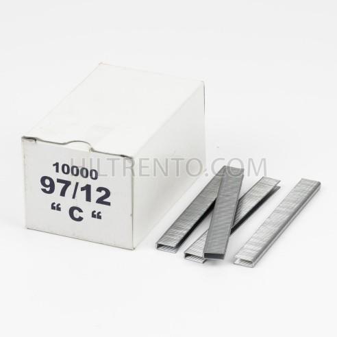 Grapas 97/12 - Caja 10.000 unidades