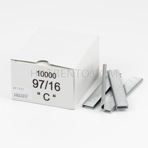 Grapas 97/16 - Caja 10.000 unidades