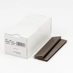 Grapas 97/25 cobreadas - Caja 5000 unidades
