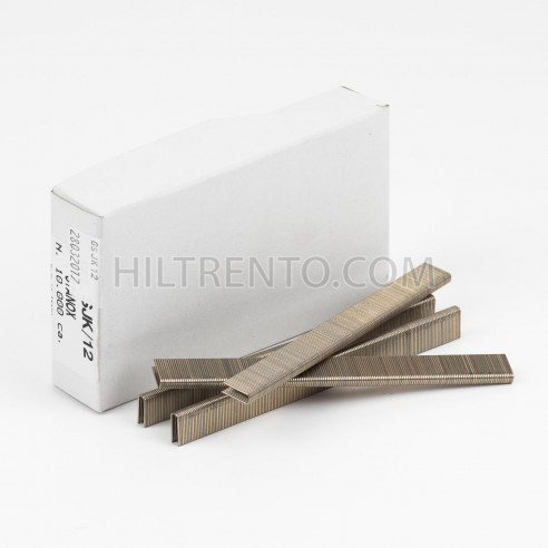 Grapas SJK/12 cobreadas - Caja 5000 unidades