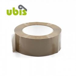 Precinto acrílico 48mm x 125m Marrón, blanco, transp. - Caja 36 uds