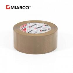 Precinto miarco 48mm x 132m Marrón - Caja 36 uds