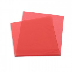 Papel seda rojo 30x60 cm - Paquete 1 millar