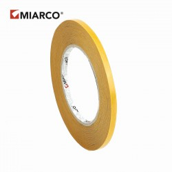 Cinta doble cara fina MIARCO 6mm x 50m - Caja 280 rollos