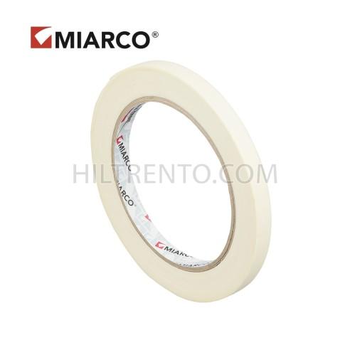 Cinta adhesiva krepp MIARCO 9mm x 45 metros - Caja 198 uds