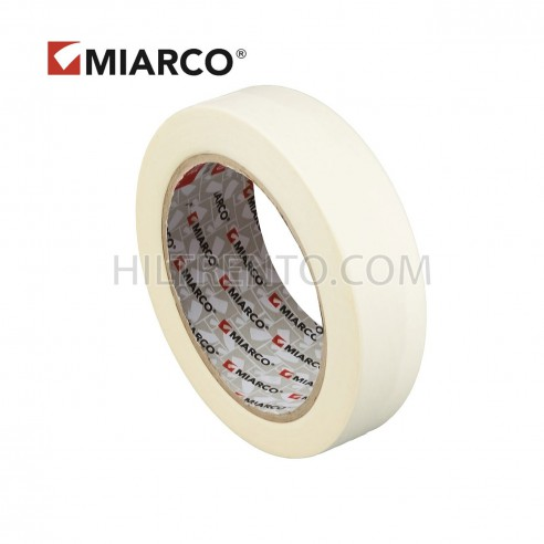 Cinta adhesiva krepp MIARCO 24mm x 45 metros - Caja 72 uds