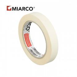 Cinta adhesiva krepp MIARCO 18mm x 45 metros - Caja 96 uds