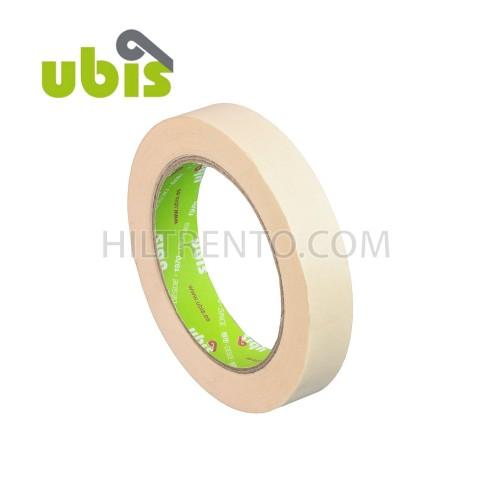 Cinta adhesiva crepe UBIS 19mm x 45m