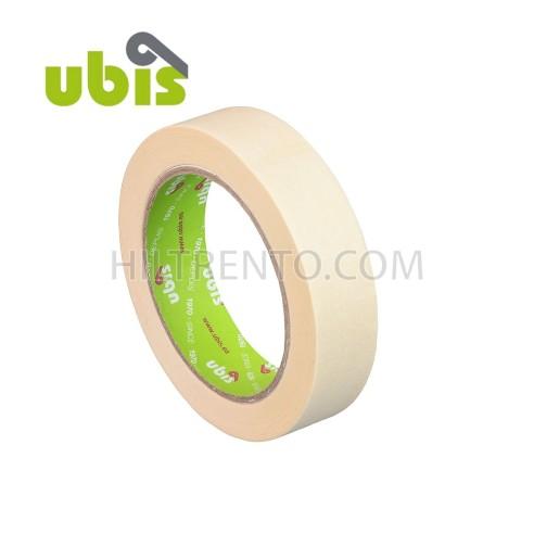 Cinta adhesiva crepé UBIS 25mm x 45m - Caja 72 uds